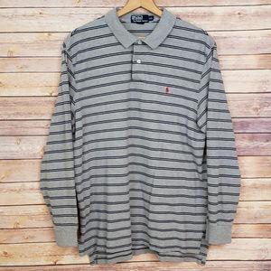 Polo Ralph Lauren Striped Long Sleeve Shirt XXL 2X